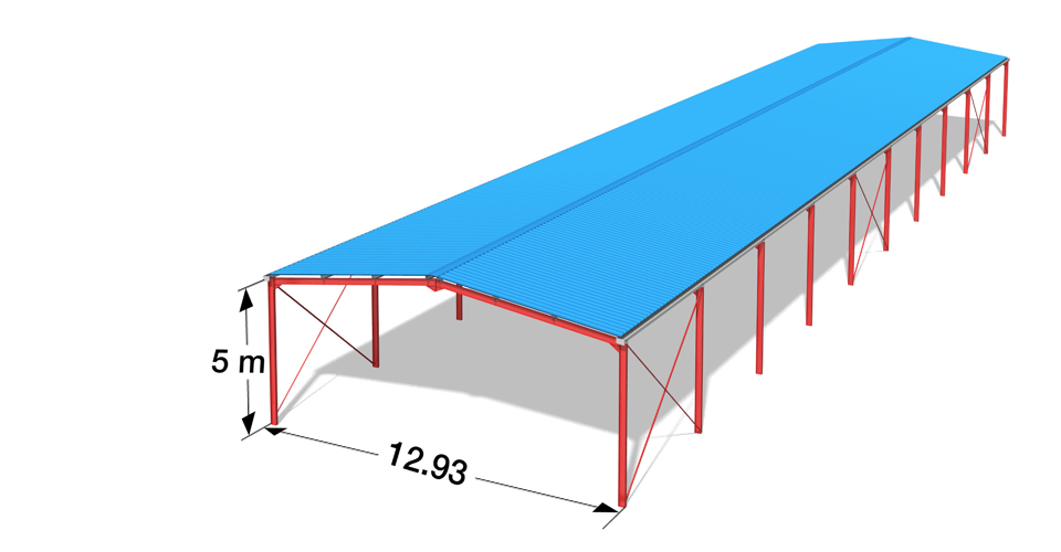 construction hangar m tallique pas cher gard vente. Black Bedroom Furniture Sets. Home Design Ideas