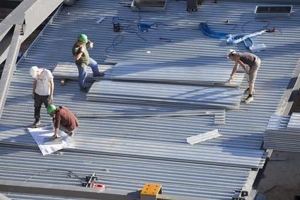 Entreprise construction m tallique vente hangar m tallique charpente m tall - Toiture metallique isolante ...
